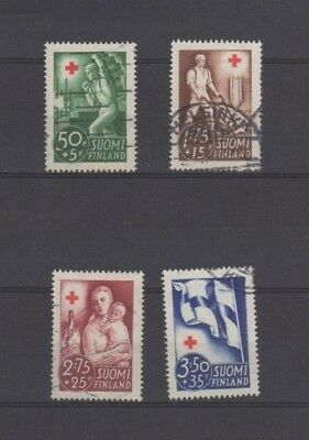 A Good Cat Value Finland 1941 Red Cross group of Issues
