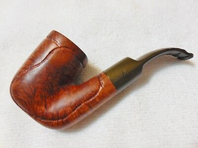 Sherwood Rock Briar Savinelli 604 Oom Paul Style Bent Pipe