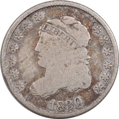 1830 Capped Bust Half Dime - Pleasing Circulated Example!