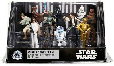 Disney Star Wars A New Hope Exclusive 10-Piece Deluxe PVC Figure Play Set