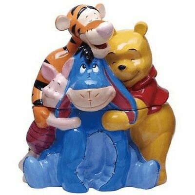 Disney Rare Mint Pooh and Friends Cookie Jar New in Box