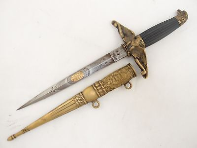 Old Kingdom Of Hungary Air Force / Paratrooper Officer Parade Dagger / Dirk, C.
