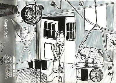 Dr Doctor Who Daleks 2150AD Sketch Card by Laura Inglis of inside the Tardis