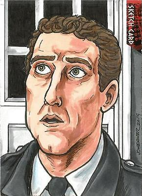 Dr Doctor Who Daleks 2150AD Sketch Card by Joshua Werner of Tom Campbell