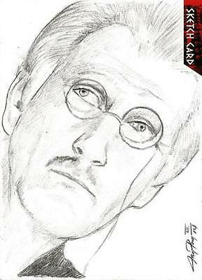 Dr Doctor Who Daleks 2150AD Sketch Card by Jay Pangan III of The Doctor [ B ]