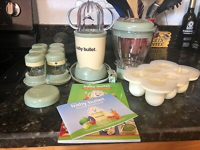 Magic Bullet Baby Bullet Organic Healthy Food Making System 20 Piece Storage Set