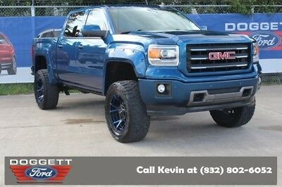 2015 Sierra 1500 SLT 4X4 2015 GMC Sierra 1500, Stone Blue Metallic with 32,125 Miles available now!
