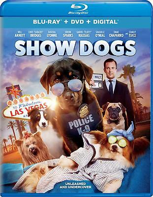 Show Dogs (Blu-ray Disc ONLY, 2018)
