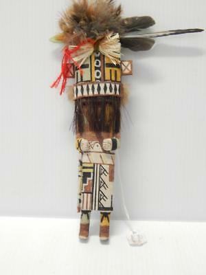 FINELY DETAILED ZUNI PUEBLO INDIAN KACHINA DOLL - by GINO LAHALEON - A+++++