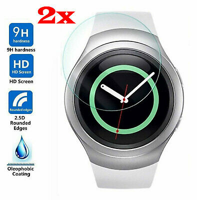 2-Pack Tempered Glass Screen Protector For Samsung Gear S2/ S2 Classic
