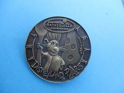 Remy Ratatouille Coin Medallion Medal  Disney Pin