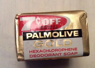 Vintage 3 Pack Palmolive Gold Soap
