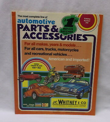 1975 Jc Whitney Catalog J.c. Whitney Automotive Parts And Accessories No 342