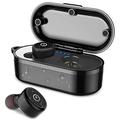Bluetooth 5.0 Wireless Earbuds IPX8 Waterproof Bluetooth 3D Stereo Sound Headset
