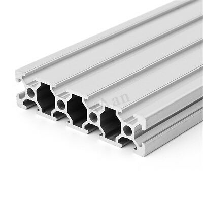 350/500mm Length Aluminum T-slot Extruded Profile 2080 Extrusion Frame For