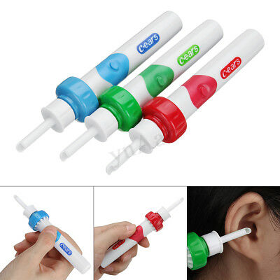Electric Cordless Ergonomic Ear Cleaner Wax Remover Cleaning Tool for Ear