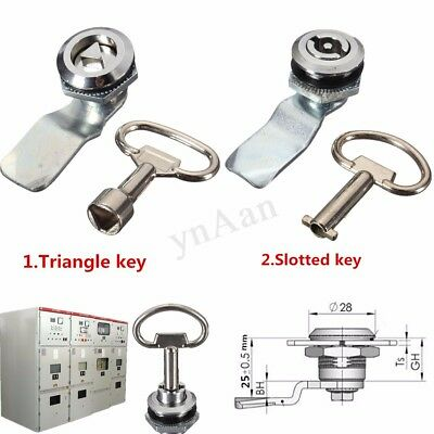 25mm Cam Lock File Cabinet Desk Drawer Locker + Key for Pinball Arcade