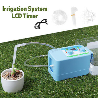 Automatic Home LCD Drip Irrigation System Sprinkler Water Timer Controller