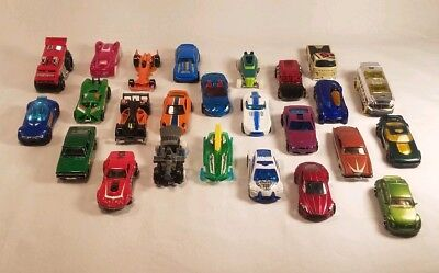Hot Wheels Lot of 25Loose Toys Collectible Diecast and Plastic Random Vehicles