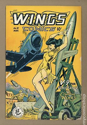 Wings Comics #91 1948 FR 1.0