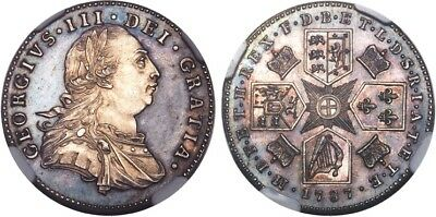 1787 Great Britain George Iii Proof Sixpence  Ngc Pr63