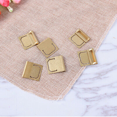 6pcs Retro Copper Index Clamp Bookmark Metal Brass Bookmarks Stationery Gift Z