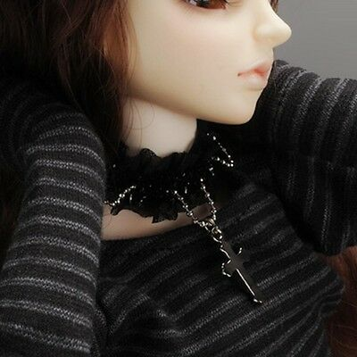Dollmore  1/4 BJD accessory necklace MSD - Hebara Choker (Black)
