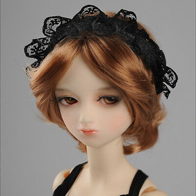 [Dollmore] BJD doll acc MSD & SD - FL Hairband (H003 - Black)