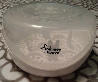 Tommie Tippee Bottle Sterilizer Use in Microwave to Sterilize Bottles Before Use