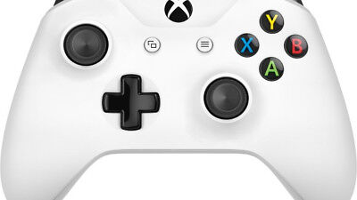 TF5-00004 Microsoft XBOX One Wireless Bluetooth Game Controller - White - TF5-00