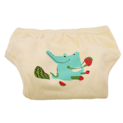 Baby Reusable Washable Sleepy Baby Cloth Diaper Nappy Underwear Cover BS