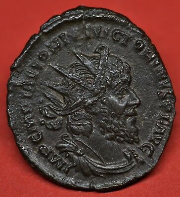 Very Rare Unlisted Antoninianus Of Victorinus: Piavvonivs, Cologne, Ad 269-70.