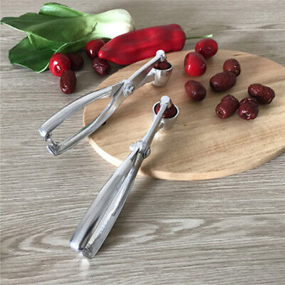 Home Cherry Olive Pitter Stoner Pits Seed Remover Core Easy Squeeze Gadgets LG