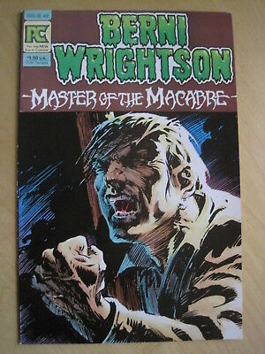 BERNI WRIGHTSON : MASTER of the MACABRE 2. BRUCE JONES. PACIFIC COMICS, 1983