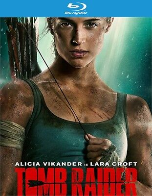Tomb Raider (Blu-ray Disc ONLY, 2018)