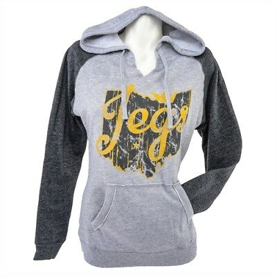 JEGS Apparel and Collectibles 18198 JEGS Ladies Ohio Logo Hoodie X-Small