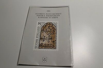 MINT 1983 FINLAND COLLECTION OF STAMPS x 21 STAMPS IN FOLDER MUH