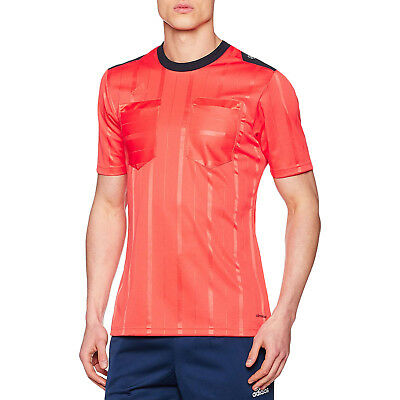 f9c19299e3b adidas Performance Mens Climacool Short Sleeve UCL Football Referee Jersey  - Red