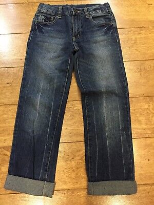 Boys Denim Cotton Jeans Piping Hot Target Size 9