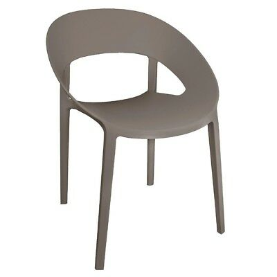 Bolero Wraparound Stackable Chair Coffee (Pack of 4) Catering  Cafe - GR339