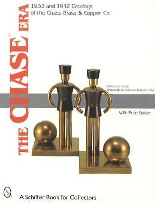 1933 & 1942 Catalogs of Chase Brass & Copper Co: Metalware & Art Deco - Reprint