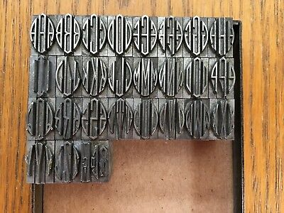 "Letterpress Metal Type  ""Virkotype Monograms"" 48pt"