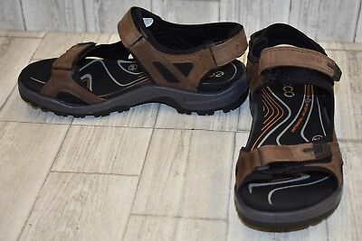 a6d6ffa0cfd ECCO SANDALS MEN S Offroad Tulum Sport Hiking Espresso Brown Sz 44 ...
