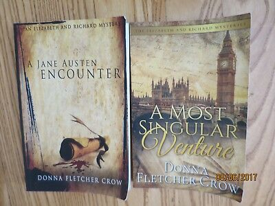 Lot 2- A Jane Austen Encounter, A Most Singular Venture - Donna Fletcher Crow