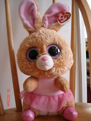 TWINKLE TOES the Big Bunny From Ty Beanie Boos Collection