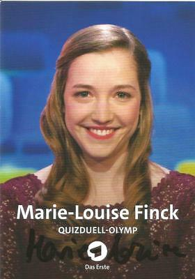 MARIE-LOUISE FINCK: Quizduell-Olymp *ARD*
