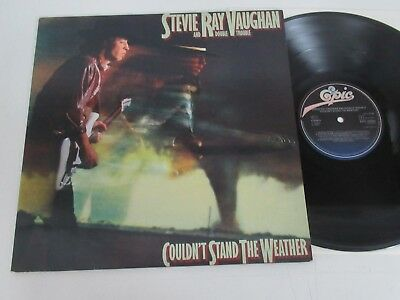 Stevie Ray Vaughan And Double Trouble/couldn't Stand The Weather Lp Epic 25940