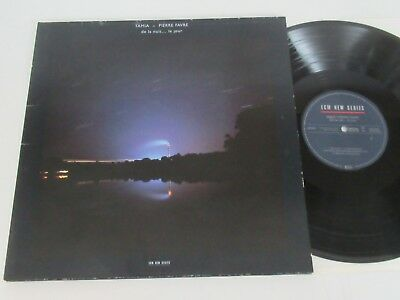 Tamia-Pierre Favre/de La Nuit... Le Jour Lp Germany Ecm New Series Ecm 1364 Foc