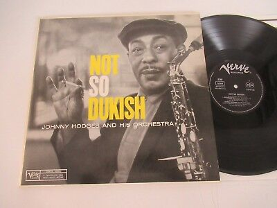 Johnny Hodges And His Orchestra/not So Dukish Lp Germany Verve Records 2304 510