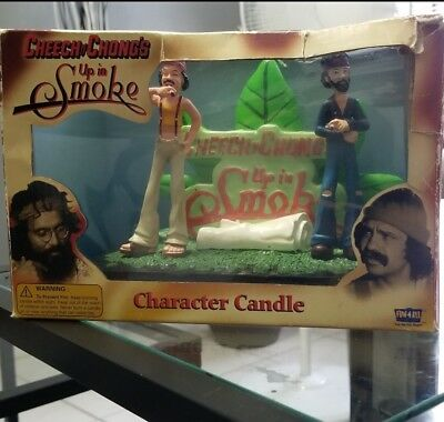 Vintage Cheech And Chong Up In Smoke Candle Rare!